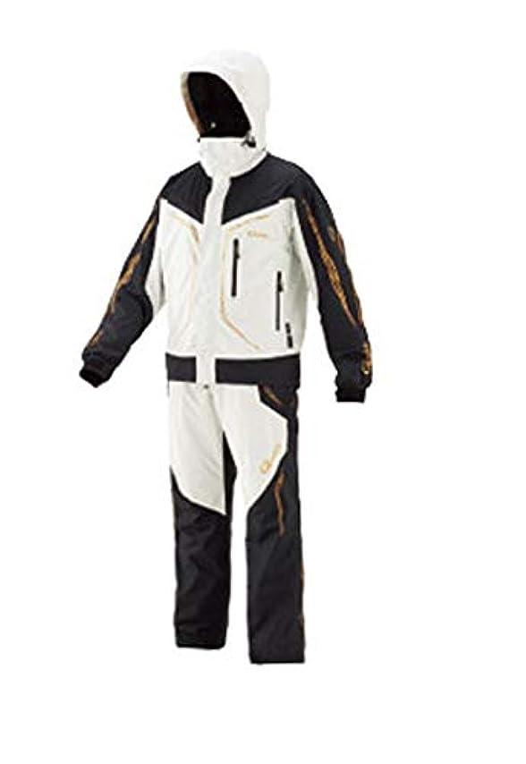安全性牽引容疑者がまかつ(Gamakatsu) ゴアテックス(R)オールウェザースーツ GM-3611 ホワイト 5L