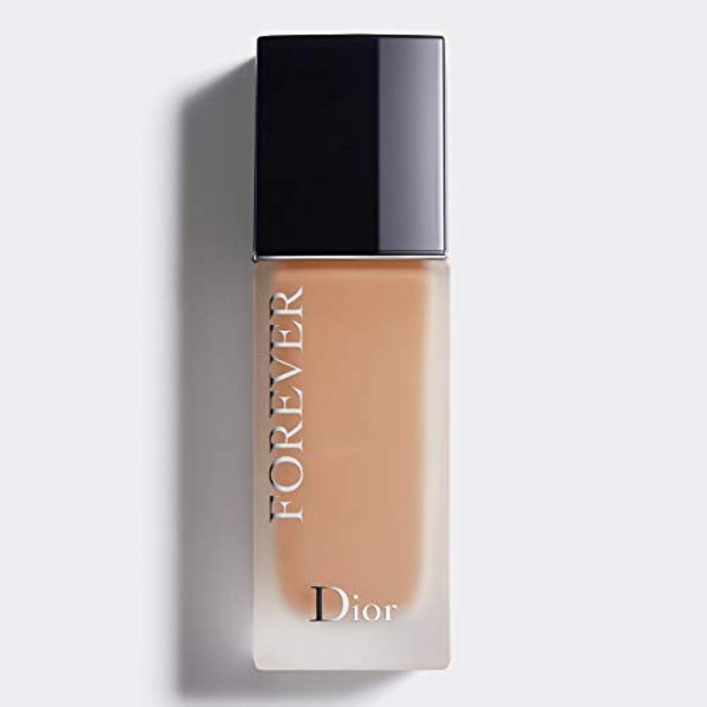 致命的な汚染する自動クリスチャンディオール Dior Forever 24H Wear High Perfection Foundation SPF 35 - # 3WP (Warm Peach) 30ml/1oz並行輸入品