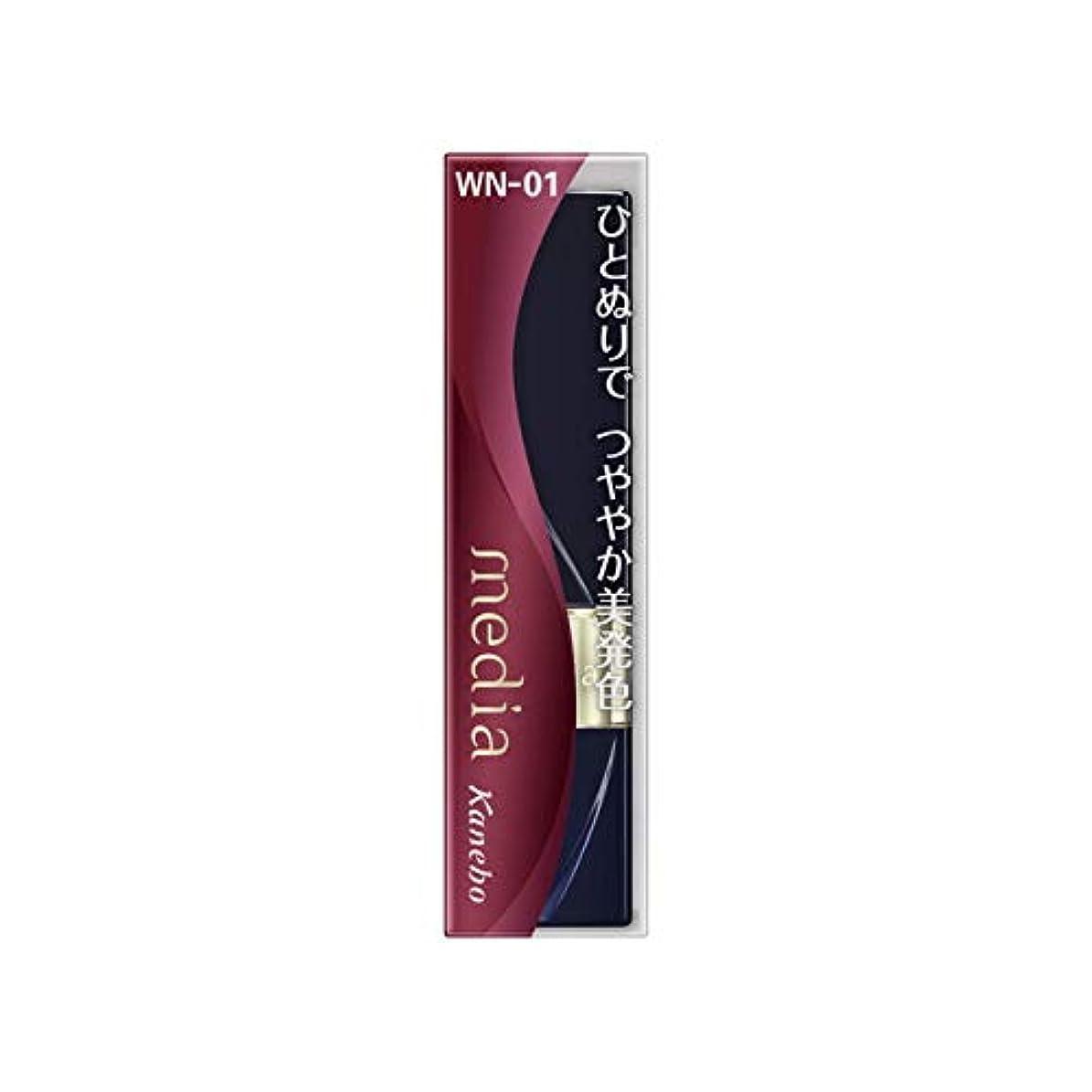 神秘染料調整カネボウ メディア ブライトアップルージュ WN-01(3.1g)