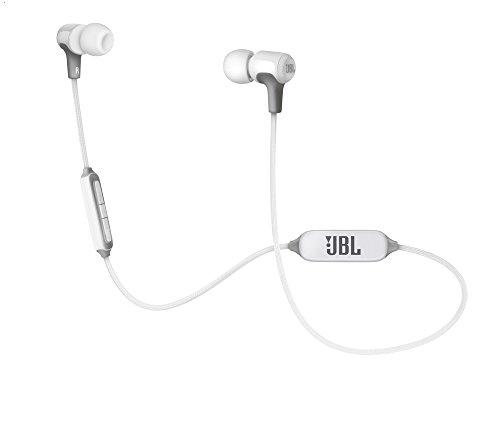 JBL E25BT ワイヤレスイヤホン Bluetooth マルチポイント対応/Bluetooth・リモコン・マイク付き/通話可能 ホワイト JBLE25BTWHT 【国内正規品】