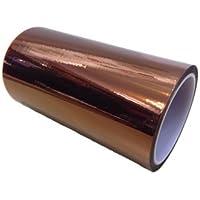3D プリンター 絶縁 耐熱 耐寒 難燃 カプトン ポリイミド テープ (200mm X 33m)