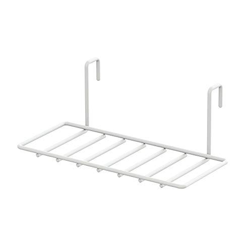 平安伸銅工業 LABRICO DIY収納パーツ ナゲシレールシェルフ KXW-213 ホワイト 奥行14×高さ9.6×幅24.5cm