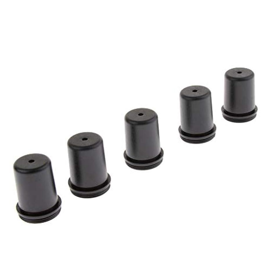 細分化する助けになる弁護KESOTO 5個 マイクバッテリーカバー マイクエンドキャップ