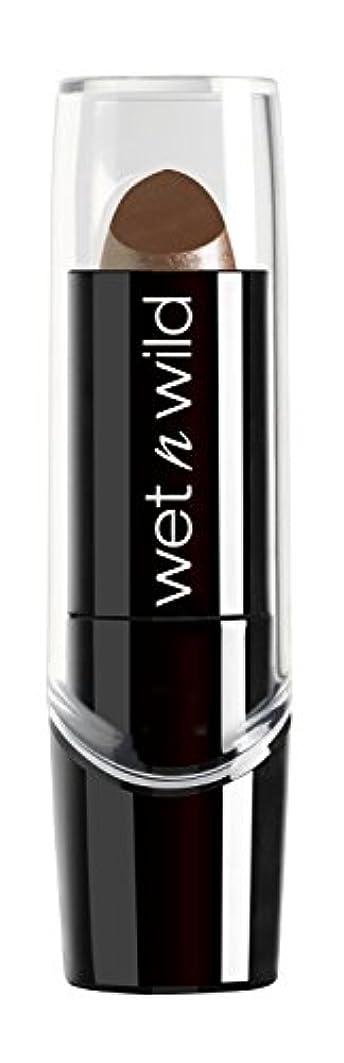 教育するしたがって贅沢WET N WILD Silk Finish Lipstick - Cashmere (並行輸入品)