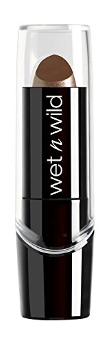 衝突するギャロップ改修するWET N WILD Silk Finish Lipstick - Cashmere (並行輸入品)
