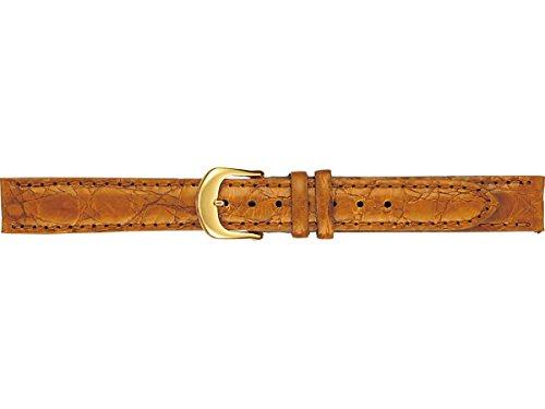 セイコー 婦人用 「ノイエ」サイドワニ(切身ステッチ付) DAV2 キャメル