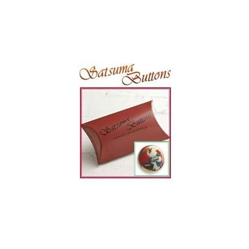 SatsumaButtons(薩摩ボタン)サツマボタン(15mm)単品【餅つき兎赤】SBB1-053 (15mm)