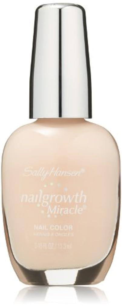 練習テンション粘土SALLY HANSEN NAIL GROWTH MIRACLE NAIL COLOR #150 BOLD BUFF