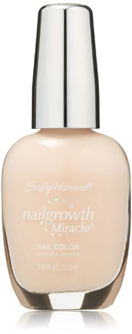 ある短くするディスクSALLY HANSEN NAIL GROWTH MIRACLE NAIL COLOR #150 BOLD BUFF