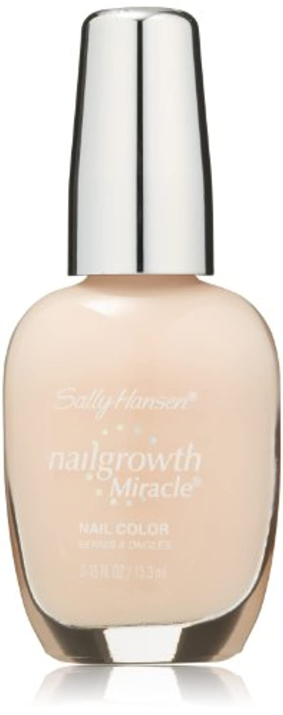 研究所テストねばねばSALLY HANSEN NAIL GROWTH MIRACLE NAIL COLOR #150 BOLD BUFF