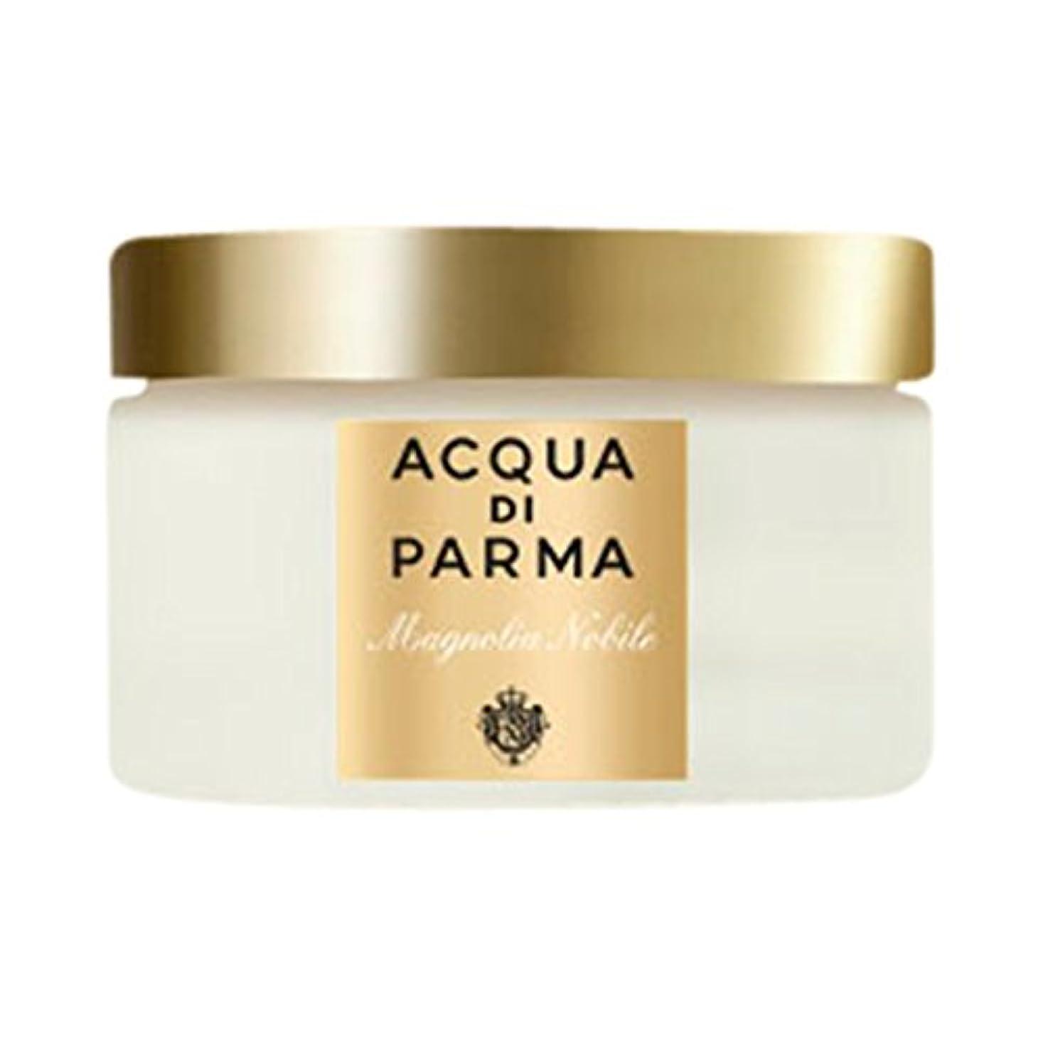 司書雄弁な主流ボディクリーム150ミリリットルノビルアクア?ディ?パルマモクレン (Acqua di Parma) (x6) - Acqua di Parma Magnolia Nobile Body Cream 150ml (Pack...