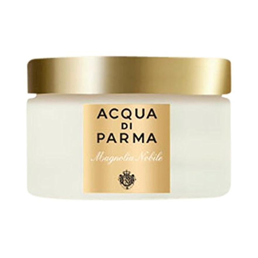 シャワー尾お勧めボディクリーム150ミリリットルノビルアクア?ディ?パルマモクレン (Acqua di Parma) (x2) - Acqua di Parma Magnolia Nobile Body Cream 150ml (Pack...