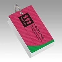 (業務用セット) レイメイ藤井 単語カード WD12 表紙色:アソート(青、黄、赤) 1個入 〔×10セット〕