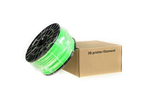 3Dプリンタ- 専用 フィラメント (PLA樹脂) 【グリーン】