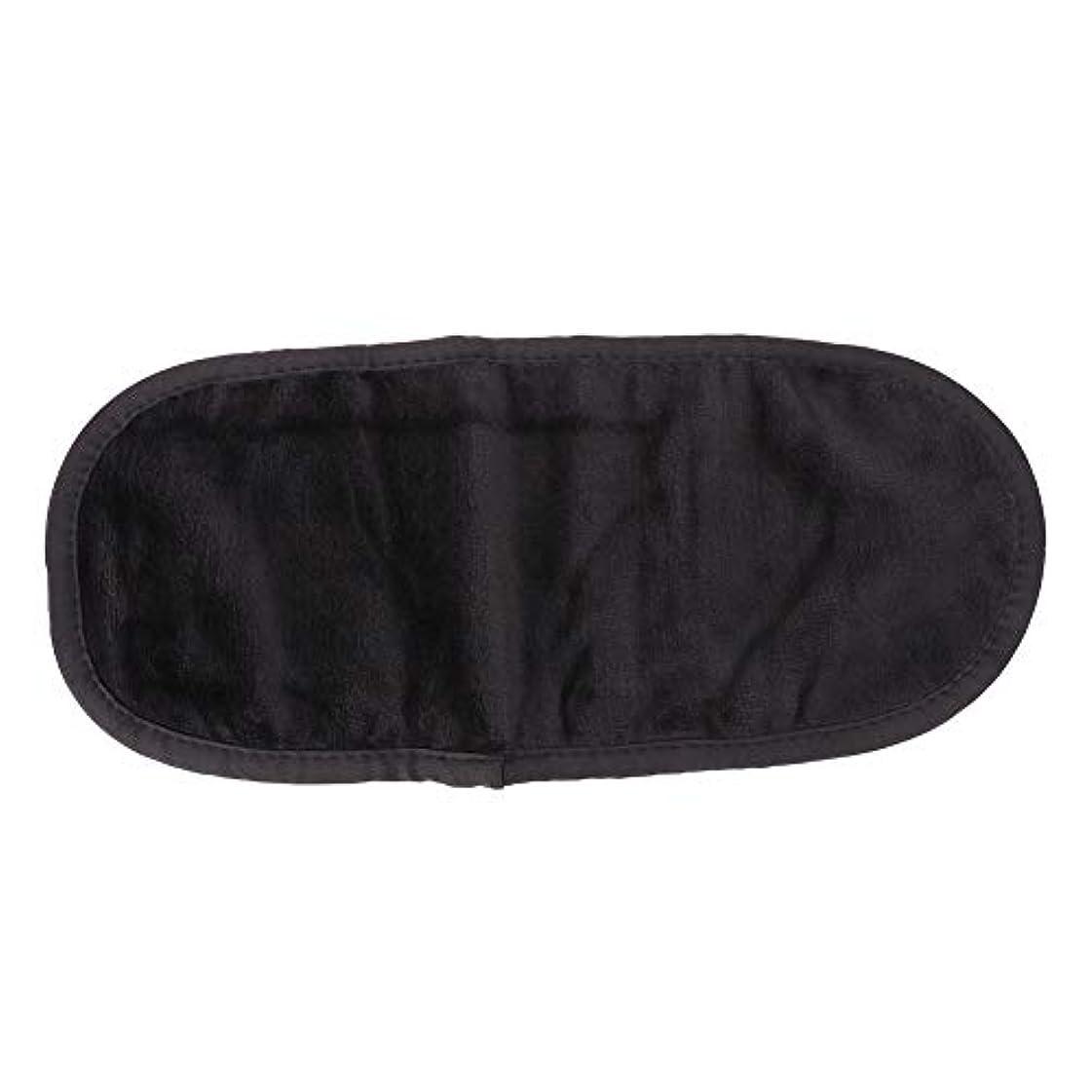 表面クリーニングタオル、超微細メイク落としスキンケア繊維ワイプ(ブラック)