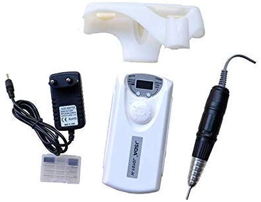 取り扱い孤独聴覚障害者再充電可能な電気釘のポリッシャの電子ドリルの釘の磨く機械100-240v 30000rpm