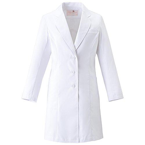 (FOLK) フォーク ワコール レディスコート 女性用 診察衣 白衣 (HI401) ホワイト M