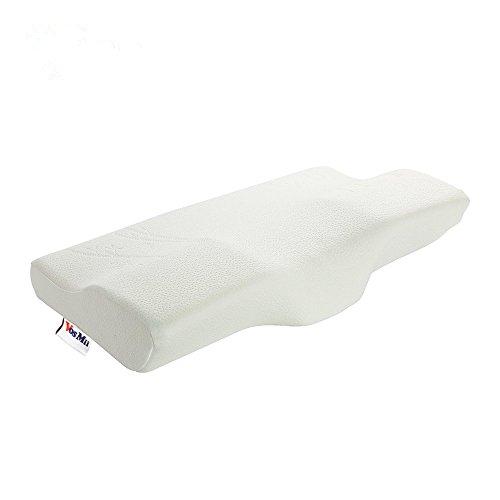 VosMii 低反発 枕 いびき防止 肩こり対策 安眠 快眠枕 洗える 頭痛改善 頸椎ヘルニアまくら 腰痛、肩こり、首痛軽減 ピロー 人気 父の日ギフト(蝶形)
