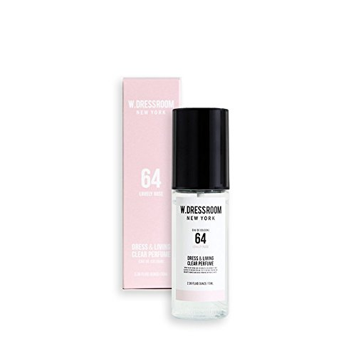 W.DRESSROOM Dress & Living Clear Perfume fragrance 70ml (#No.64 Lovely Rose)/ダブルドレスルーム ド...