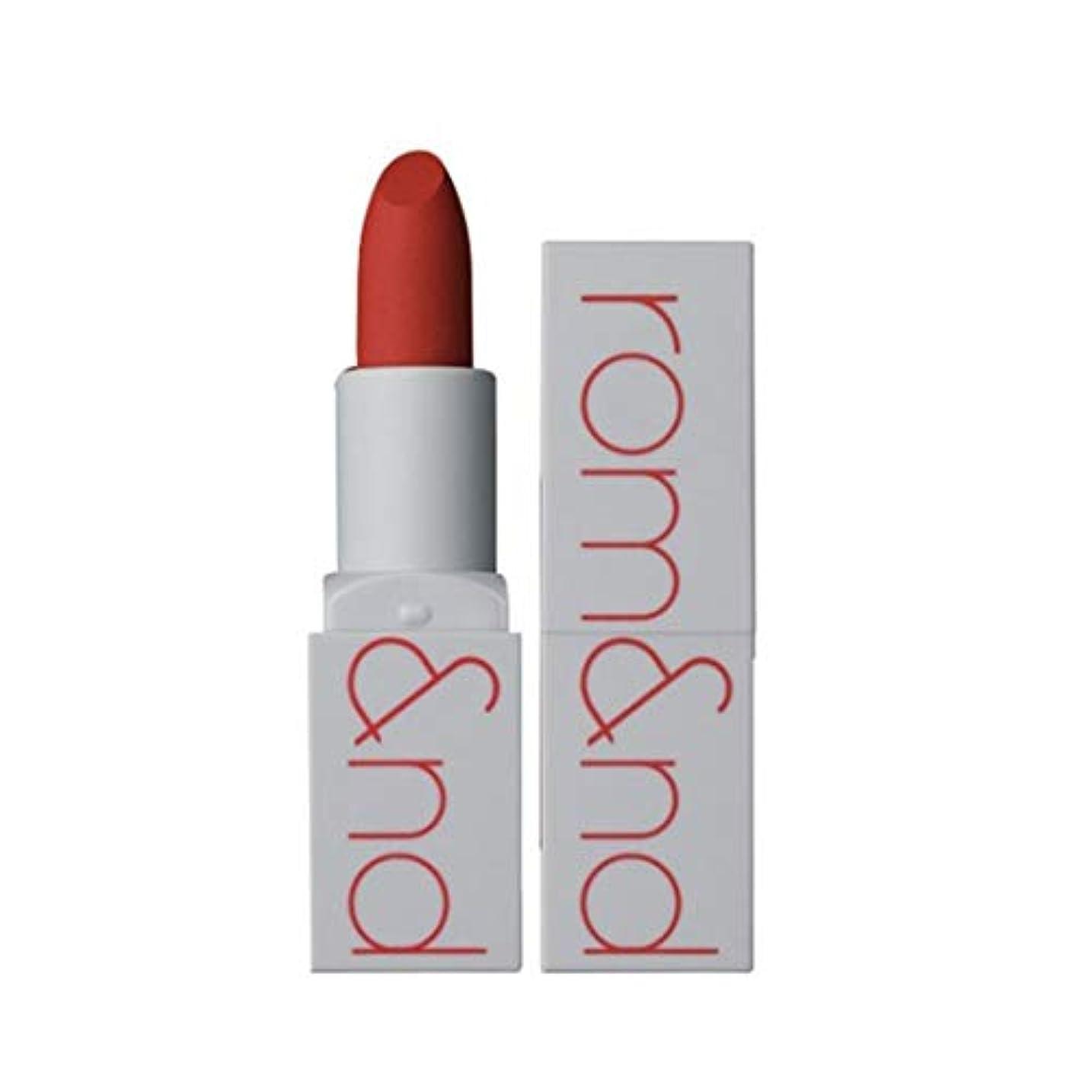 低いファセット九時四十五分ローム?アンド?ゼログラムマットリップスティック3.5g 4色、Rom&nd Zero Gram Matte Lipstick 3.5g 4 Colors [並行輸入品] (All That Jazz)