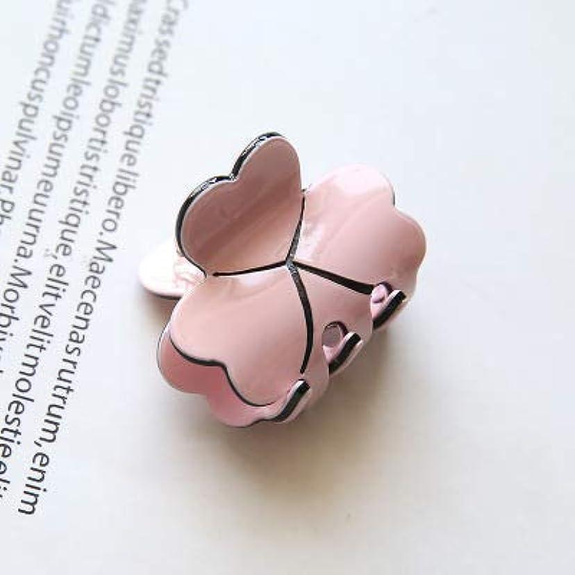 裸移行チョップHPYOD HOME Diyマジックヘア女性女の子ヘアピンヘアクリップディナーパーティーヘアスタイリングツールアクセサリー(ピンク)ヘアピン1ピース