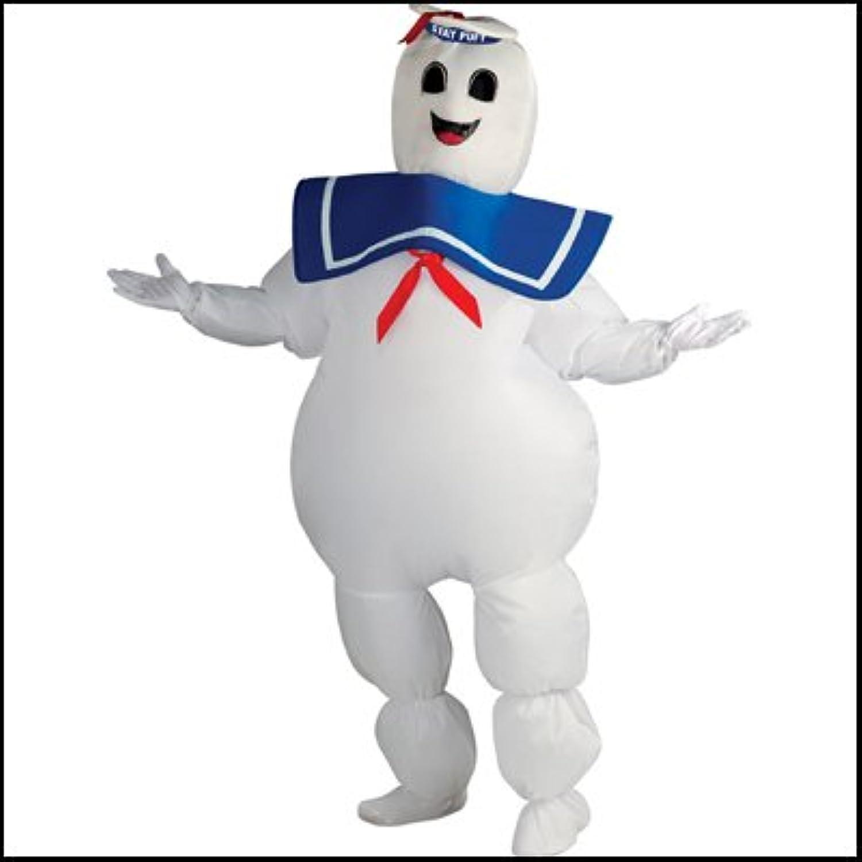 ハロウィンコスチューム エアー着ぐるみマシュマロマン Inflatable Stay Puft Marshmallow Man  22595