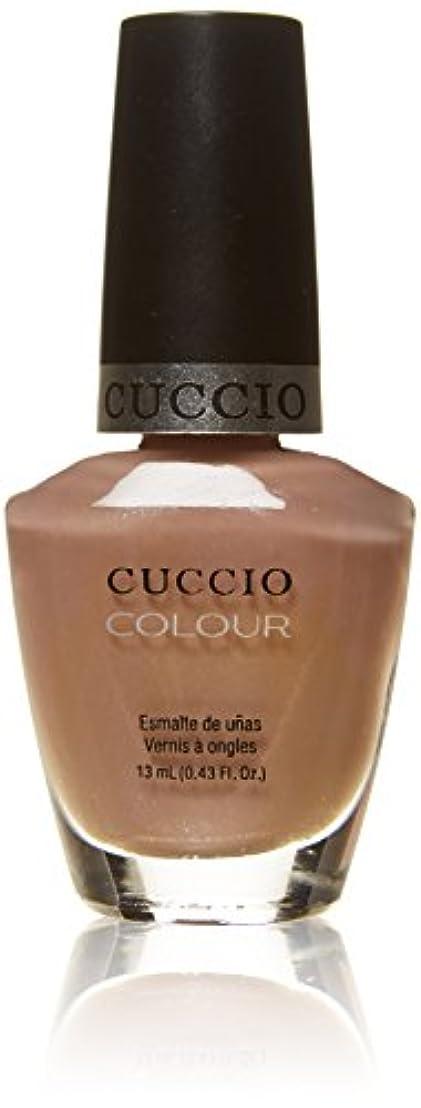 逃れる承知しましたかるCuccio Colour Gloss Lacquer - Nude-A-Tude - 0.43oz / 13ml