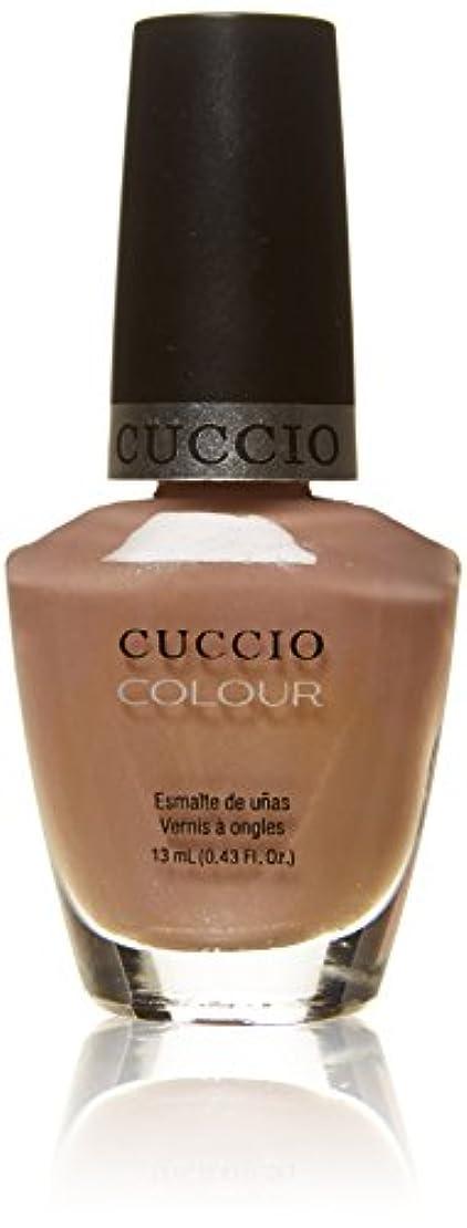 鰐床比類のないCuccio Colour Gloss Lacquer - Nude-A-Tude - 0.43oz / 13ml