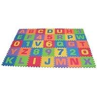 ソフト フォーム プレー マット -36 Piece (6 x 6 foot; 1.83m x 1.83m)   Play Mat