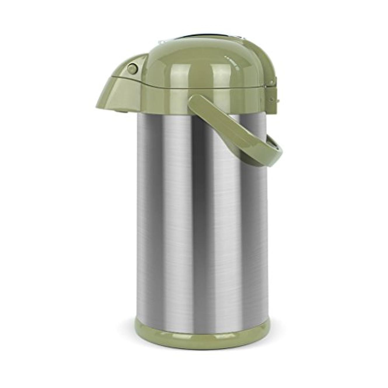 暴君振り返る種をまくSuper Kh® 断熱ケトル真空ガラスライナー2.5L / 3L鋼のカラーホームオフィスカフェレストラン公共のためのポータブルセーフ(37 * 18センチメートル/ 38.5 * 18センチメートル) (色 : Steel color+2.5L)