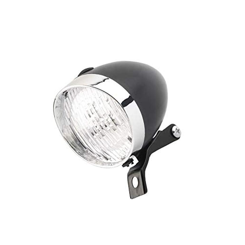 タール米国修正SUBTLE 自転車 ライト 砲弾型 LED 明るい 電池式 取付簡単 フロント ヘッド ライト
