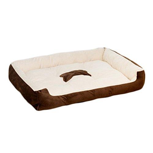 Felicely ペット用 ベッド マット 犬猫 小動物用 丸洗い 滑り止め付き...