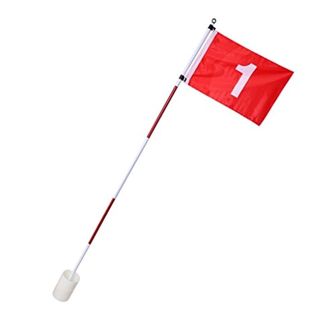 反響するサージ素晴らしさBaoblaze ゴルフ用品 練習 フラッグスティック カップ 旗 ポール ヘビーデューティ 贈り物