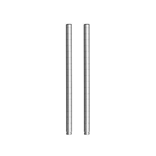 ルミナス ポール径25mm用パーツ ポール(支柱) 延長用ポール 45cm(2本セット) 高さ45cm ADD-P2545