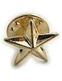 小サイズ ピンブローチ ラペルピン 星 スター ks27008 ゴールド色