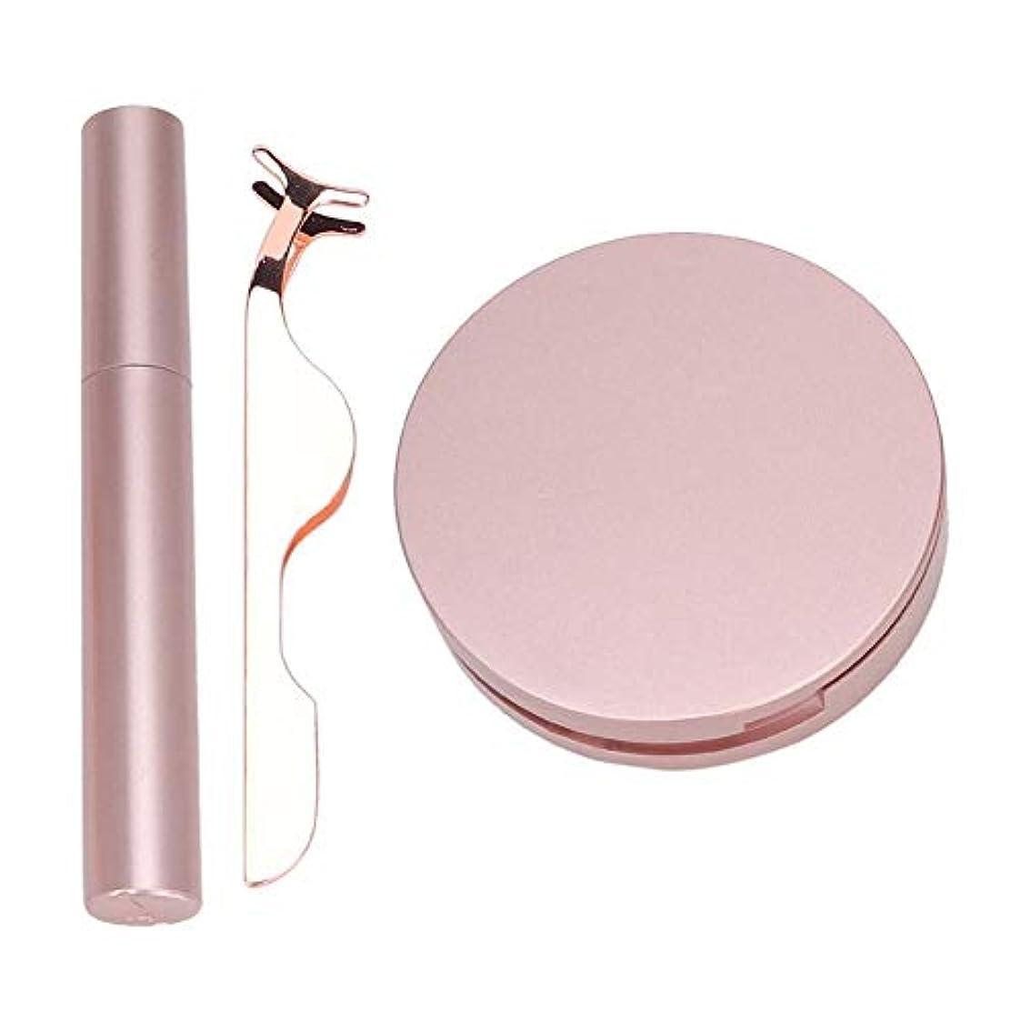 ローマ人告白するカプラー磁気まつげ、磁気アイライナー、まつげピンセット、再利用可能な磁気つけまつげキット、接着剤は不要、まつげエクステンション用の防水フルアイマグネットまつげ(002)