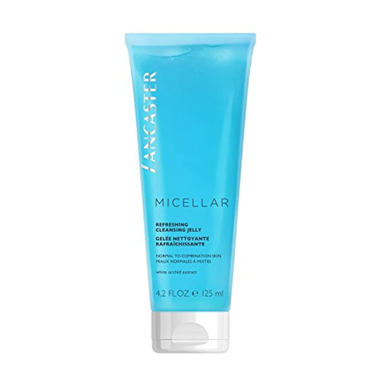頬オーバーヘッド腹ランカスター Micellar Refreshing Cleansing Jelly - Normal to Combination Skin, Including Sensitive Skin 125ml/4.2oz並行輸入品
