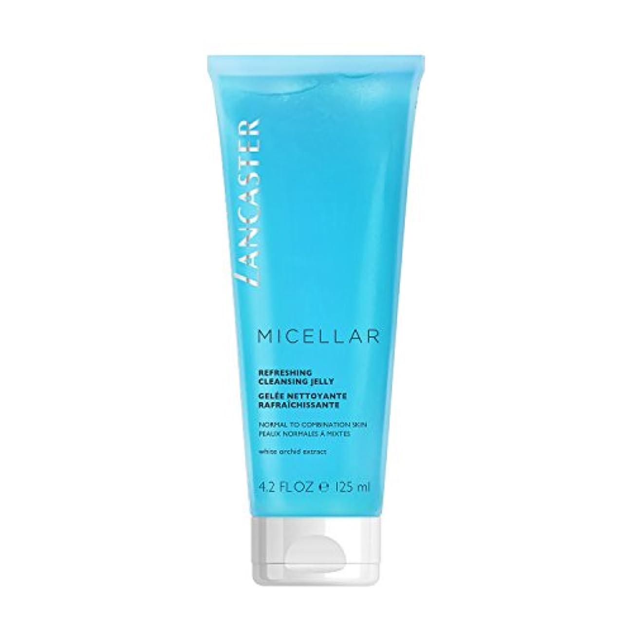 町毒液しなやかなランカスター Micellar Refreshing Cleansing Jelly - Normal to Combination Skin, Including Sensitive Skin 125ml/4.2oz並行輸入品