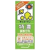 キッコーマン 特濃調製豆乳【特定保健用食品 特保】 200ml紙パック×18本入×(2ケース)