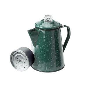 (ジーエスアイ)GSI ホウロウ コーヒーパーコレーター フォレストグリーン 8カップ 11870090018000