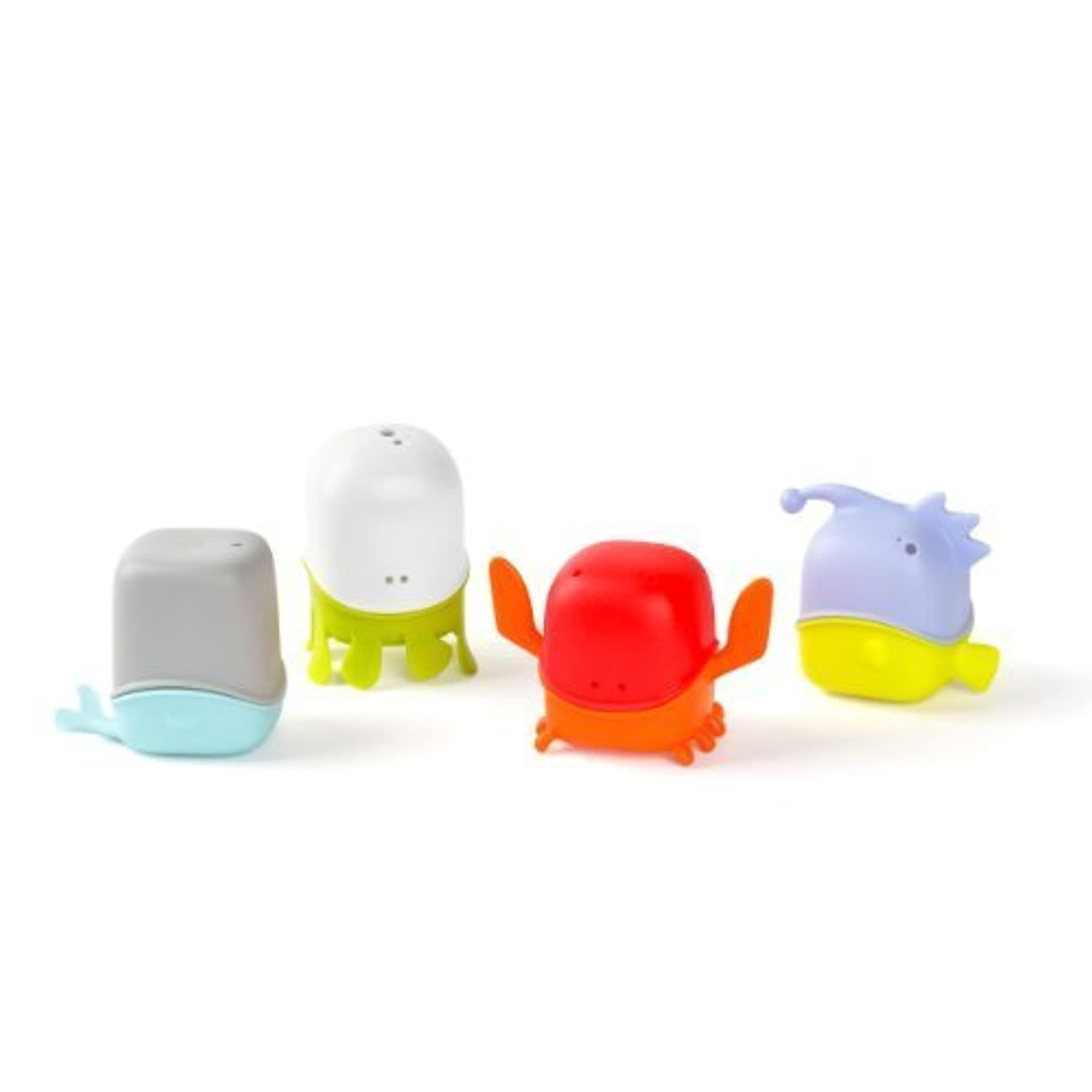 Boon Creatures Interchangeable Bath Toy Cup Set by Boon [並行輸入品]