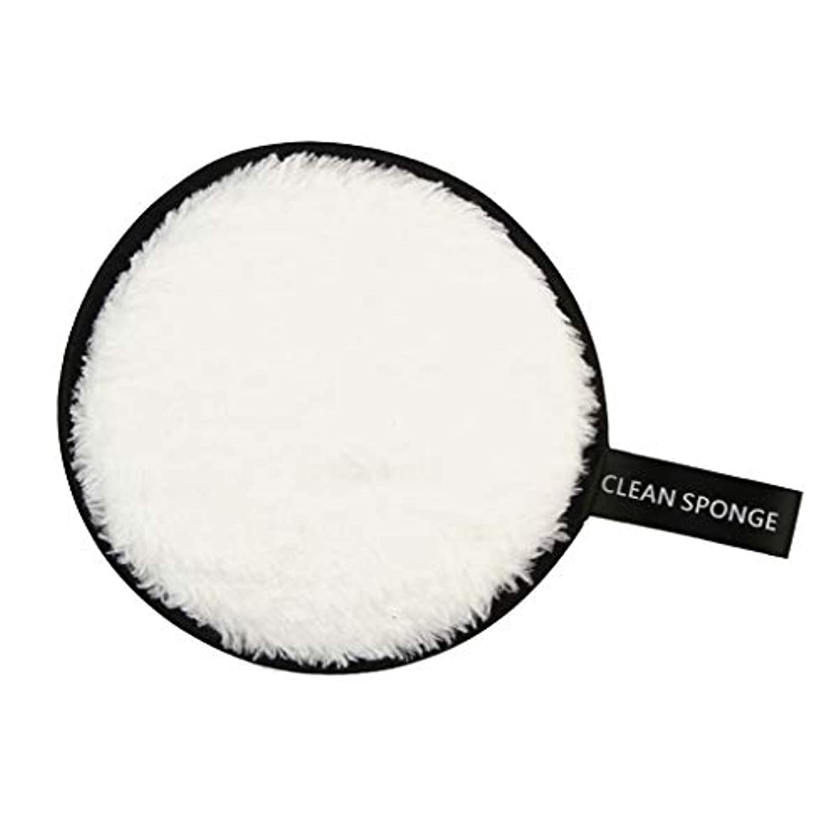 重要性今疑わしいPerfeclan 全6色 フェイススポンジ 再利用可能 洗顔パフ クリーニングパフ 化粧落としパッド - 白