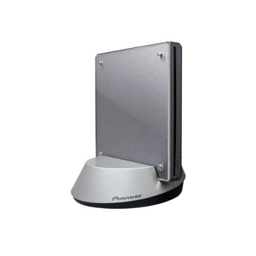 パイオニア 【ワイヤレス接続】ポータブルBDライタースロットイン方式 BDXL対応 メタリックシルバー BDR-WFS05J