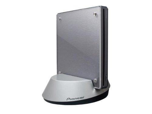 パイオニア  ワイヤレス接続 ポータブルBDライタースロットイン方式 BDXL対応 メタリックシルバー BDR-WFS05J