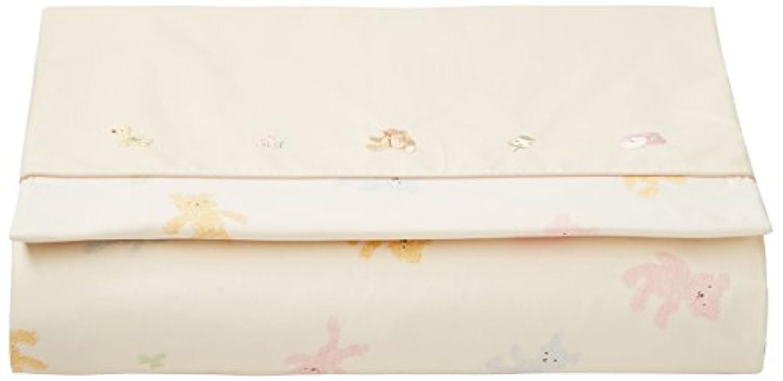 kyoto-nishikawa(京都西川) 日本製 ベビー 掛け布団カバー クマ柄 綿100% 102×128cm