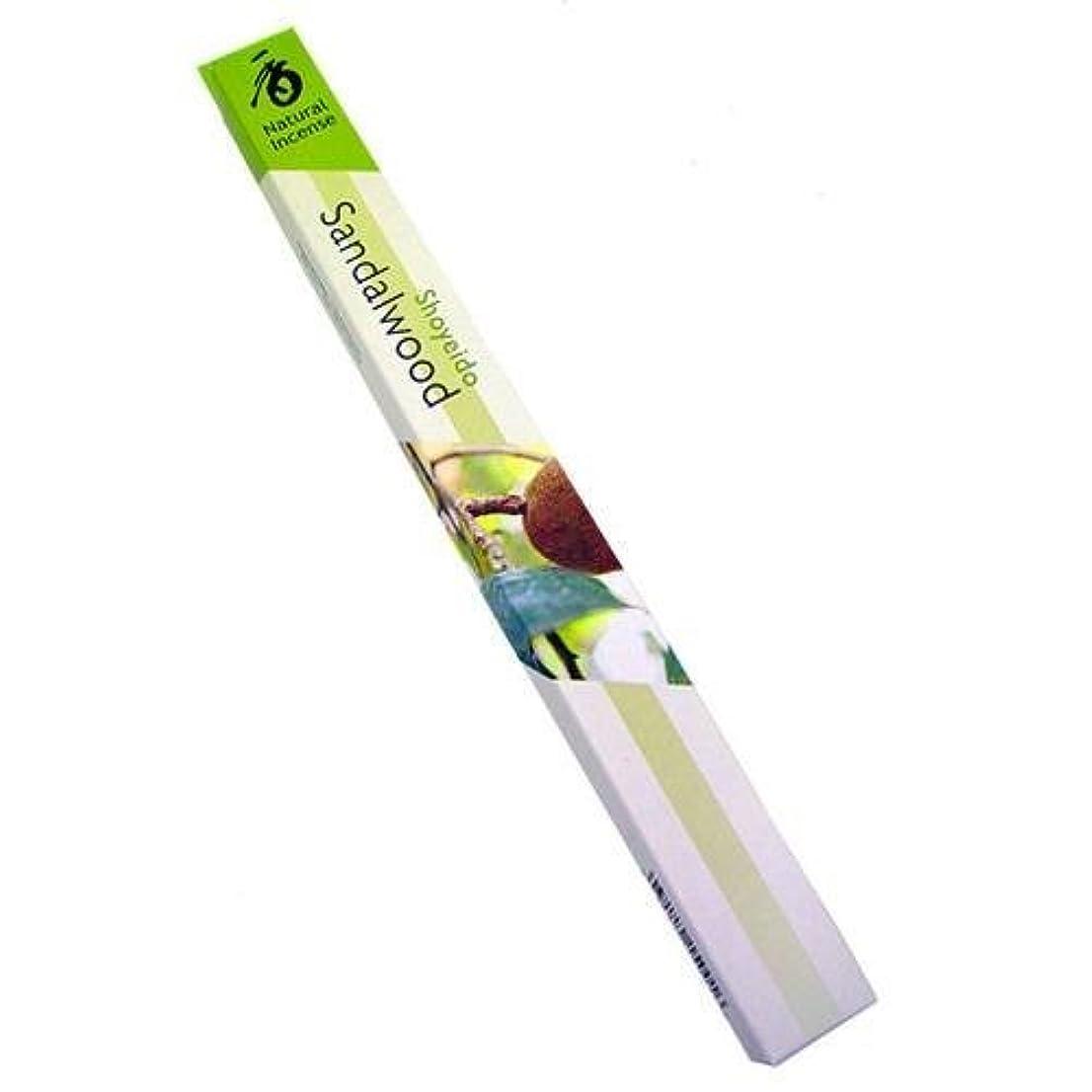 ランチョンスポーツをする医療過誤Shoyeido – Natural Incense Sandalwood 35 Stick(s) グリーン 15001