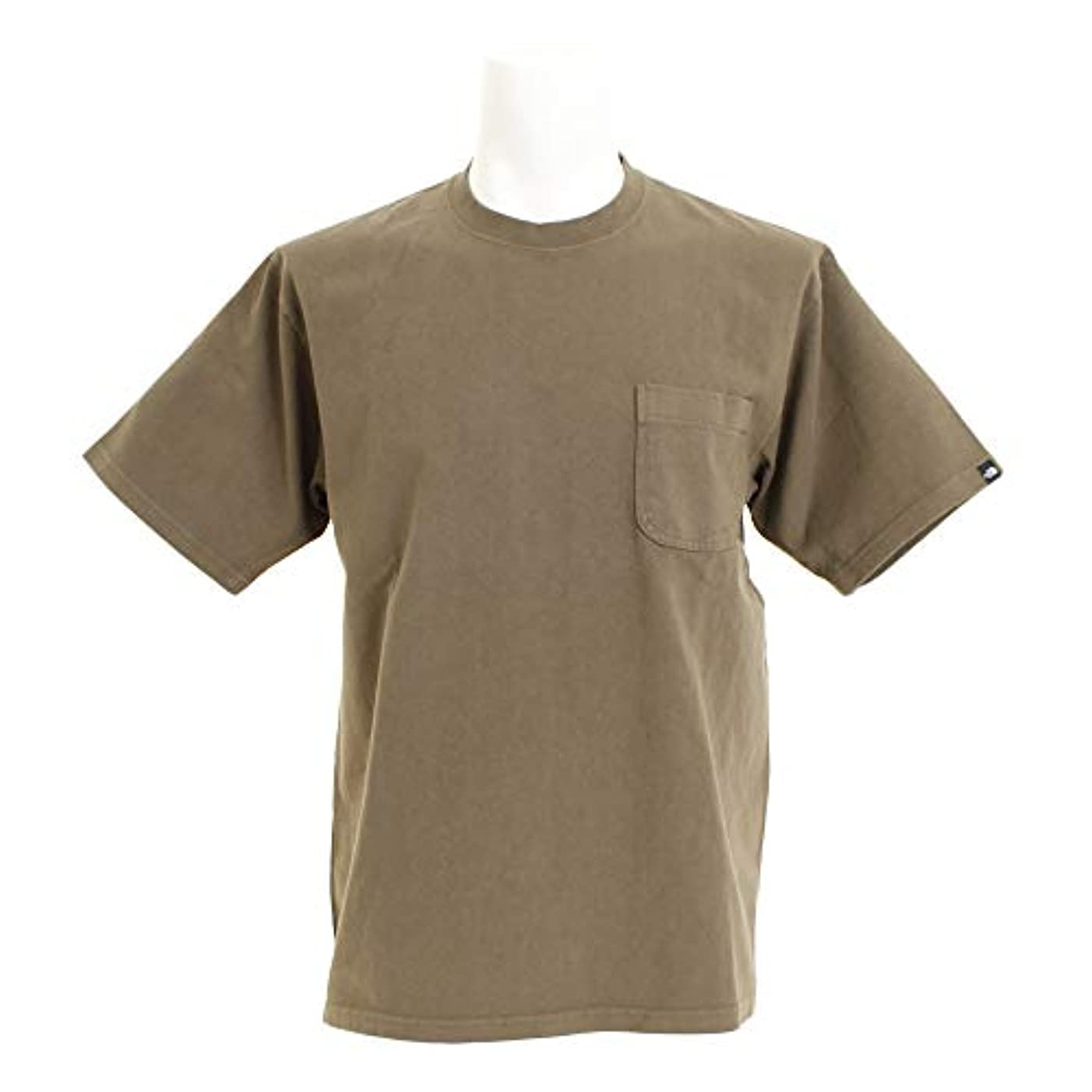 無し騙す気質ノースフェイス(ノースフェイス) ショートスリーブ ガーメンドダイヘビーコットンTシャツ NT81832 NL