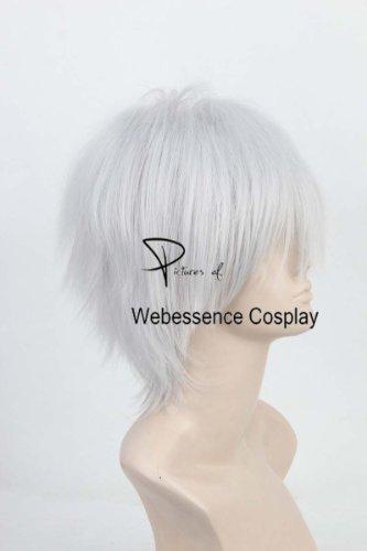 [ウェブエッセンス] コスプレウィッグ とある魔術の禁書目録  一方通行(アクセラレータ)風  高品質wig コスプレ ウィッグ+ウィッグ専用ネット+ オリジナル ブレスレット 付き