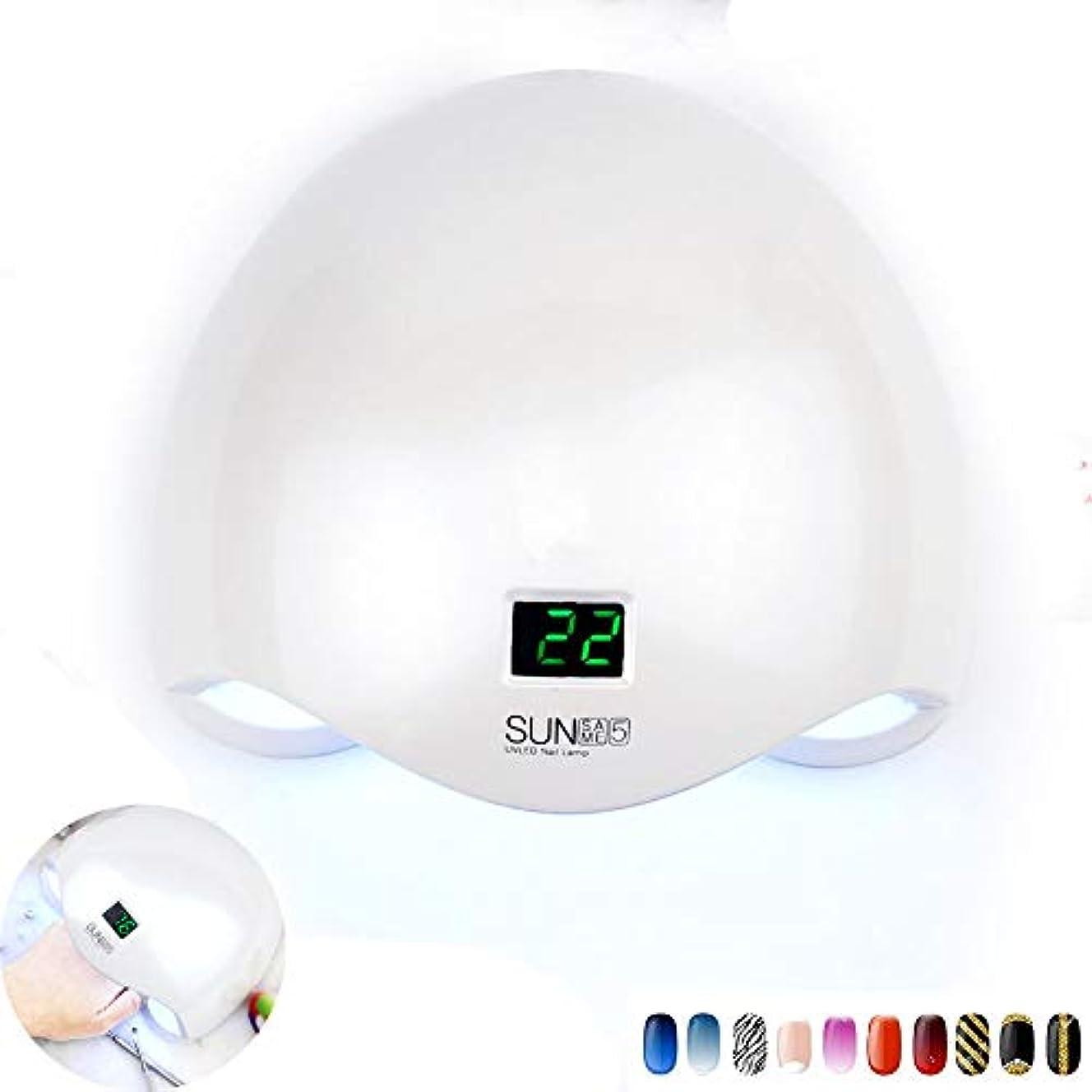パスタクリスマス勇気UV LED 48wネイルライトドライヤーネイルランプバッテリー付き24 LED硬化ネイルジェルポリッシュポリッシャーマニキュア機タイマーボタン付き,Chargingmodel
