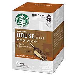 ネスレ日本 スターバックス オリガミ パーソナルドリップ コーヒー ハウス ブレンド (9g×5袋)×6箱入